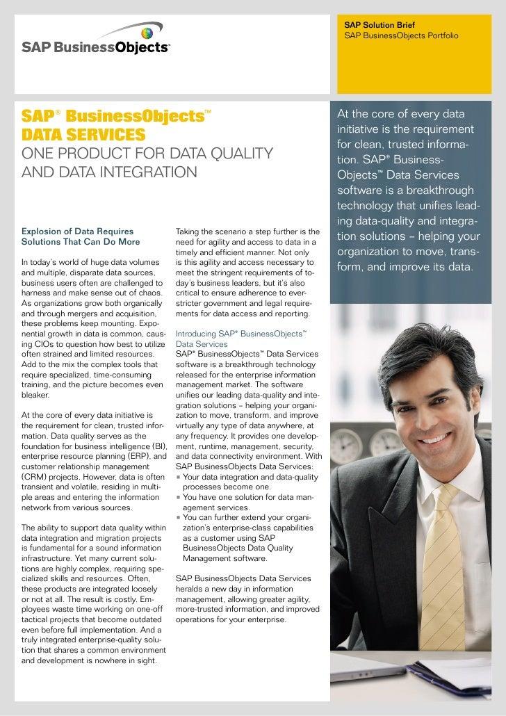 SAP Solution Brief                                                                                          SAP BusinessOb...