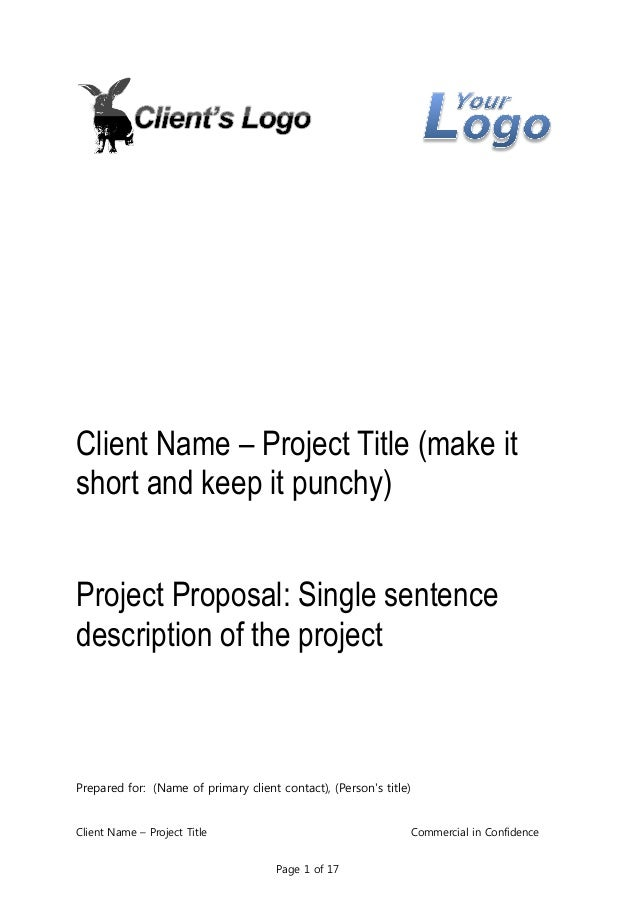 Business Proposal Template for Consulting Program Implementation – Client Proposal Sample