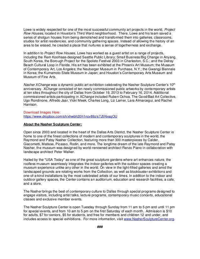 sample press release for events