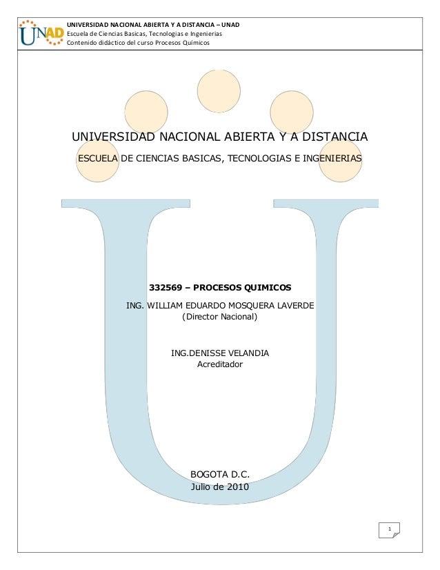 UNIVERSIDAD NACIONAL ABIERTA Y A DISTANCIA – UNADEscuela de Ciencias Basicas, Tecnologias e IngenieriasContenido didáctico...