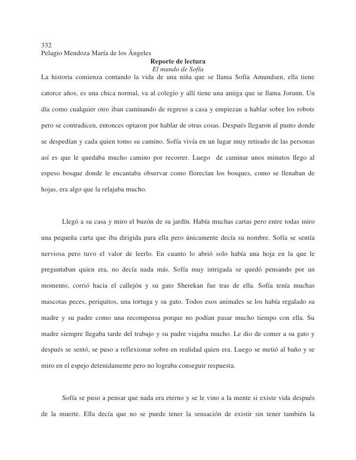332Pelagio Mendoza María de los Ángeles                                    Reporte de lectura                             ...