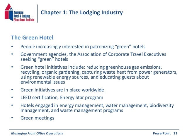 lodging inductry