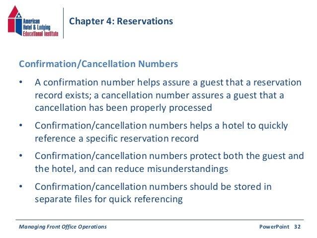Chapter 4 reservations reservation confirmationcancellation 37 spiritdancerdesigns Choice Image