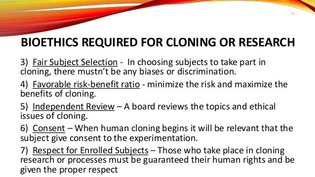 An introduction to the issue of human cloning in todays society