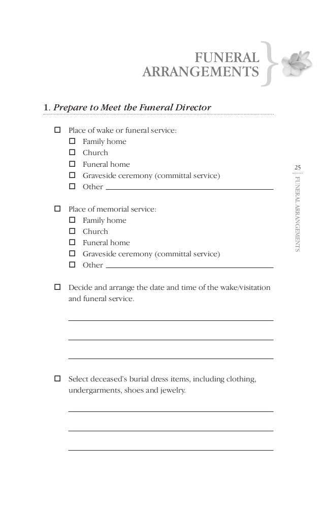 proof of funeral attendance Business Owners: The Ultimate To Do List When Your Loved One Dies