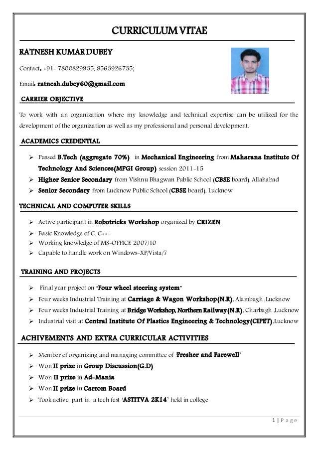 rd curriculum vitae1