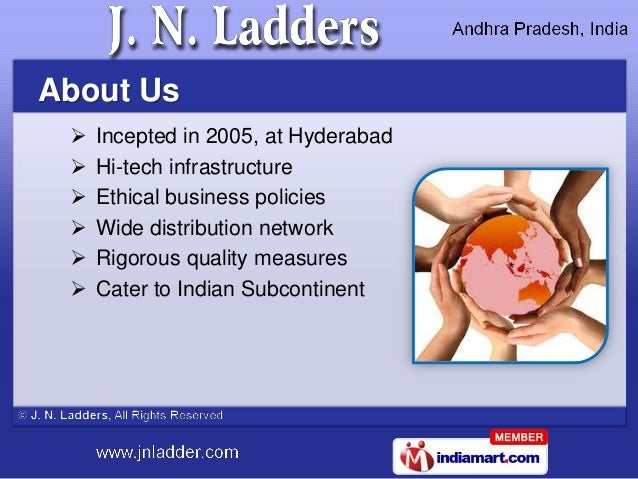 About Us    Incepted in 2005, at Hyderabad    Hi-tech infrastructure    Ethical business policies    Wide distribution...