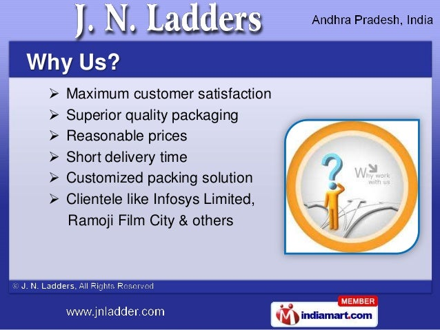 Why Us?    Maximum customer satisfaction    Superior quality packaging    Reasonable prices    Short delivery time   ...