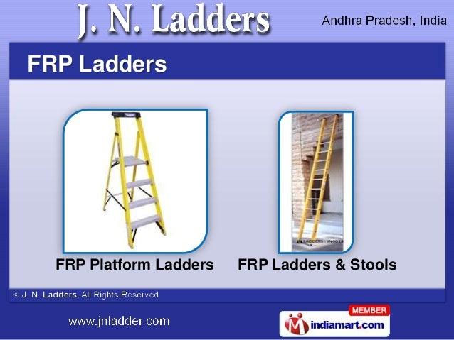 FRP Ladders  FRP Platform Ladders   FRP Ladders & Stools
