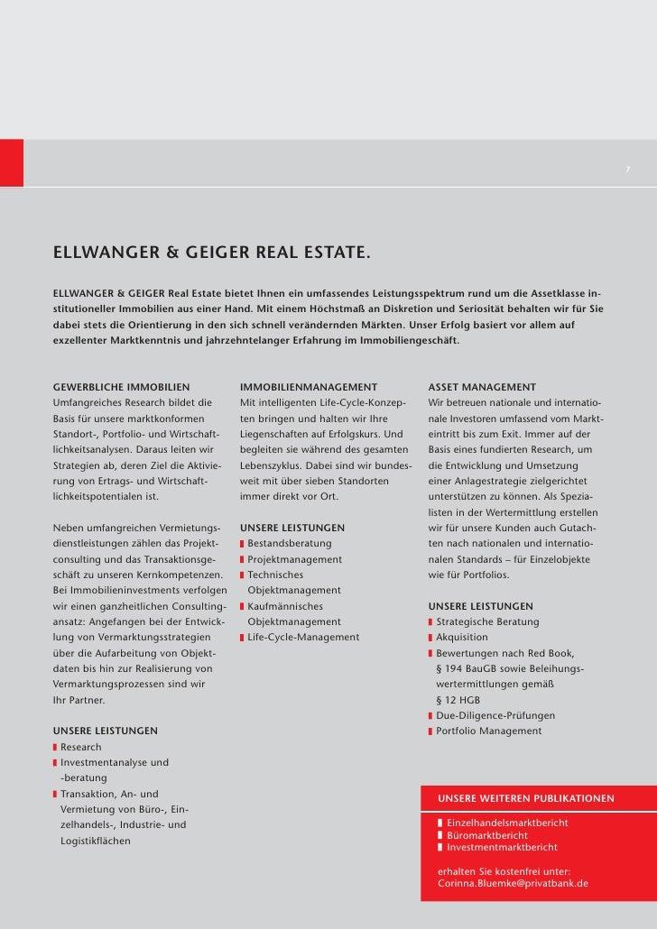 7ELLWANGER & GEIGER REAL ESTATE.ELLWANGER & GEIGER Real Estate bietet Ihnen ein umfassendes Leistungsspektrum rund um die ...