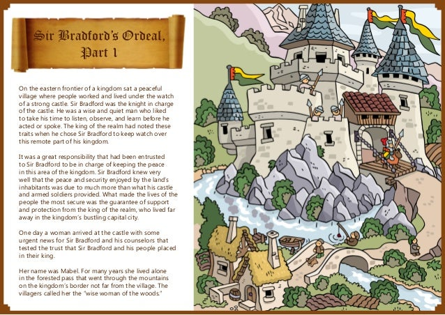 Sir Bradford's Ordeal, Part 1 On the eastern frontier of a kingdom sat a peaceful village where people worked and lived un...