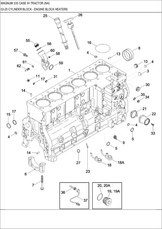 335 Series Engine Coolant Flow Diagram