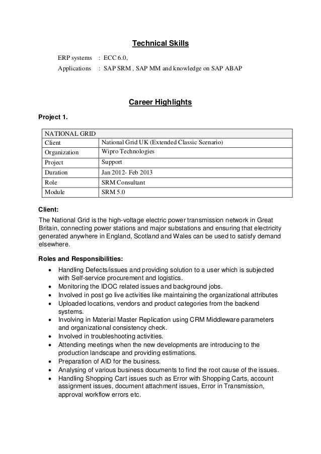 sap abap workflow resume resume pre k teacher job description