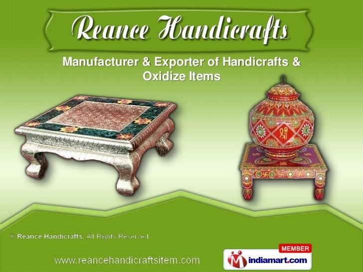 Reance Handicrafts Gujarat India