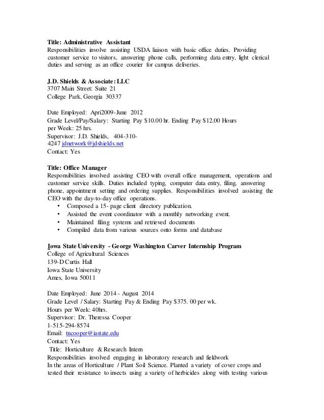 Candice Federal Resume (Afa Updated)