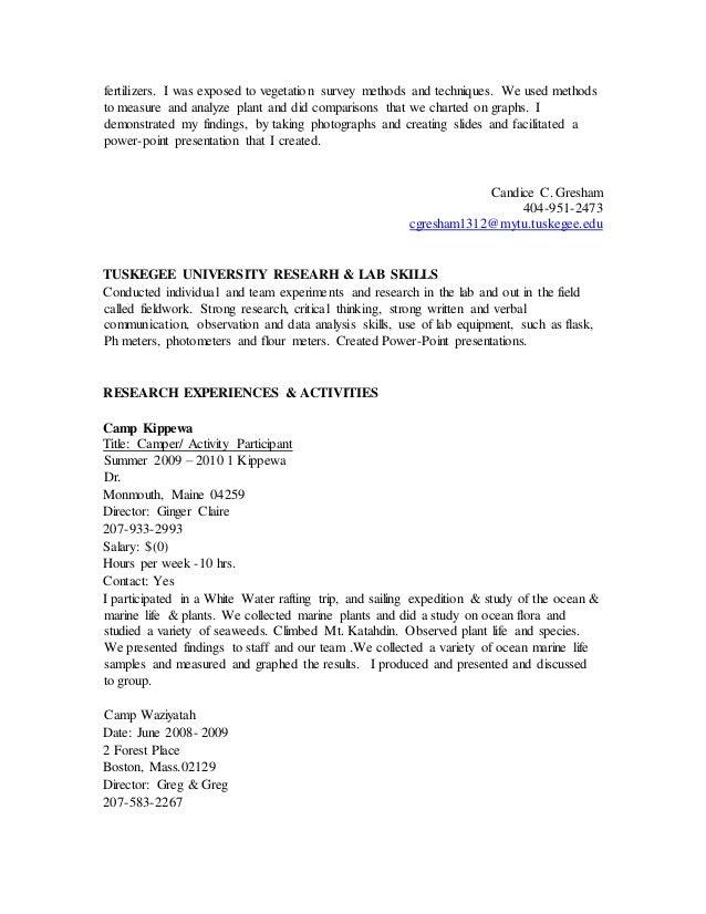 Kathryn Troutman Federal Resume