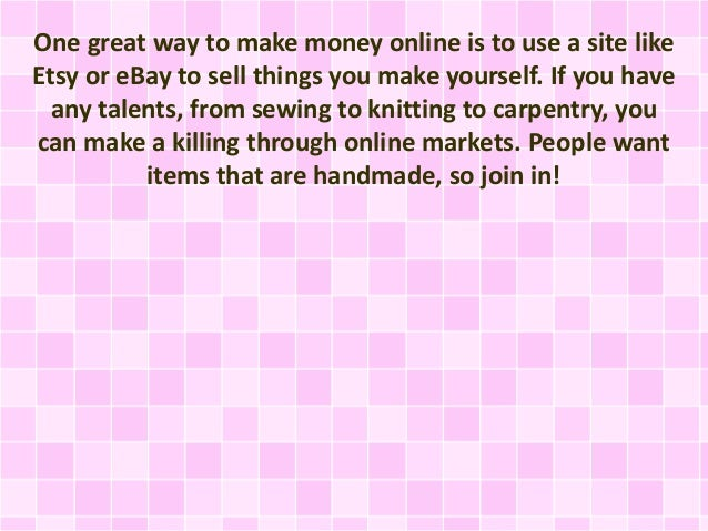 Heaps of cool money making ideas for Cool ideas to make money