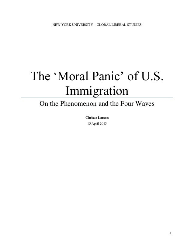 Moral Panic Is Often Citated Criminology Essay