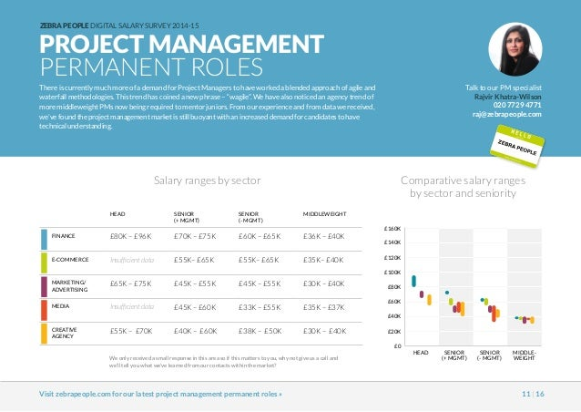 Average Salary for Skill: Project Management