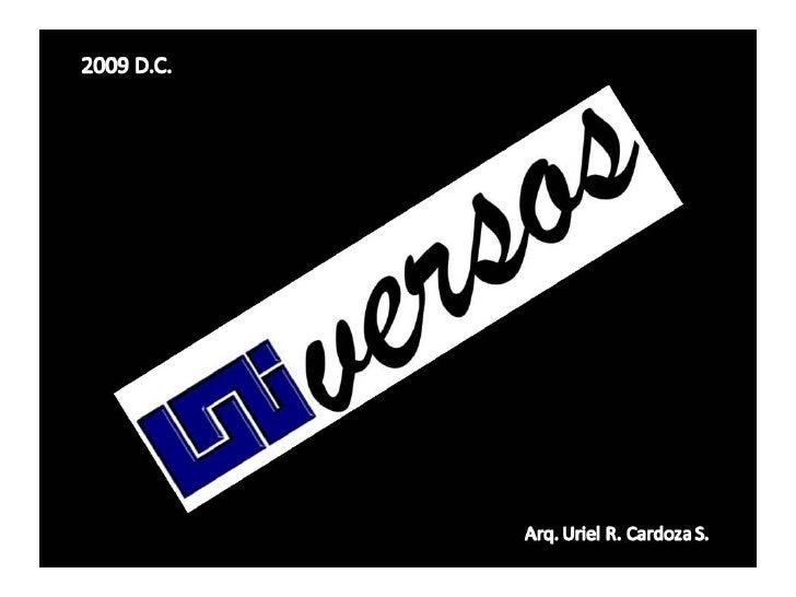 UNIVERSOS No. 1 RECARGADO  Slide 1