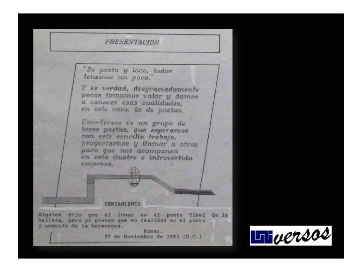 UNIVERSOS No. 1 RECARGADO  Slide 3