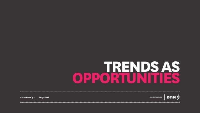 TRENDSAS OPPORTUNITIES Customer 3.1 | May 2015