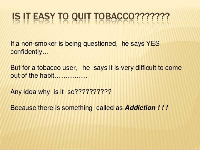 Tobacco Cessation Methodologies  Slide 2