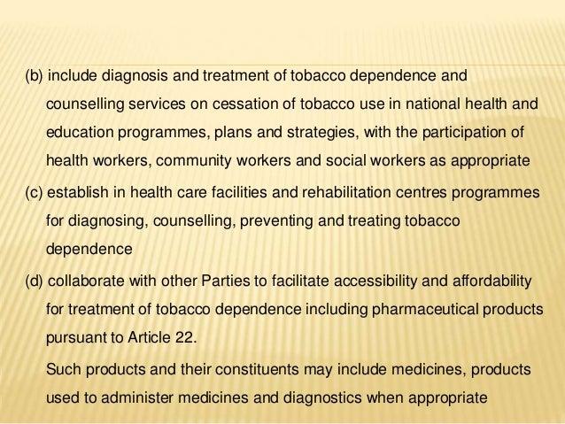 Tobacco Cessation Methodologies