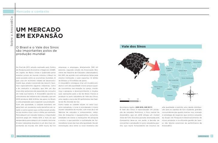 Sobre a Arezzo&Co   Mercado e contexto                    Um mercado                    em expansão                    O B...