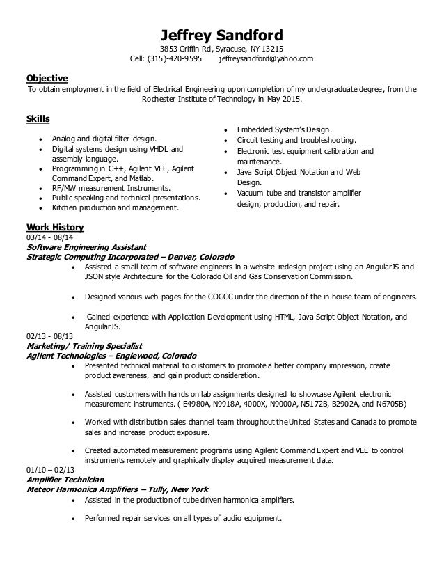 awesome syracuse engineering resume gallery resume