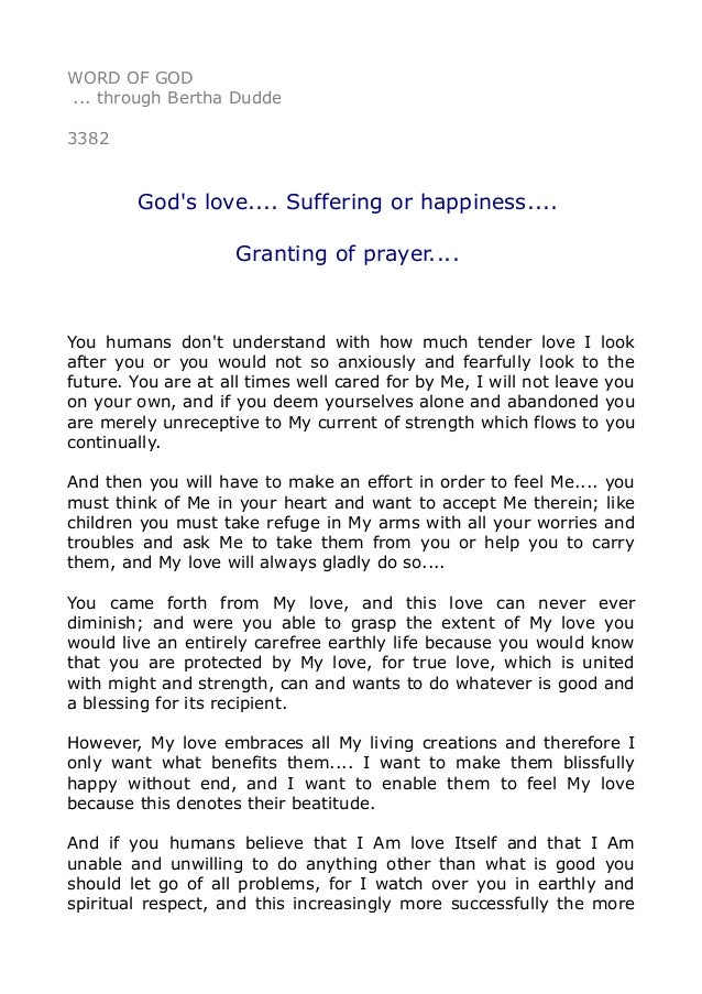 A prayer for love and happiness