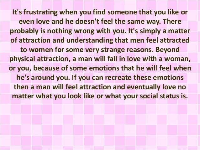 when a guy is falling in love