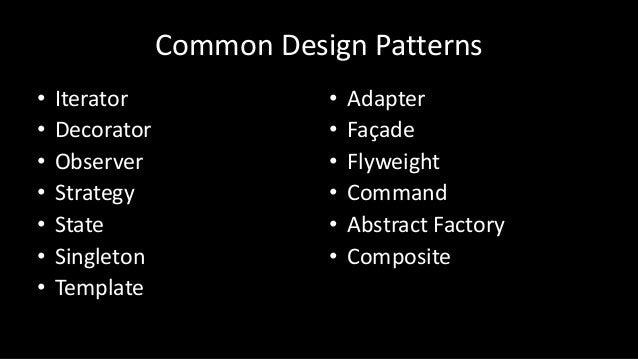 Python Common Design Patterns