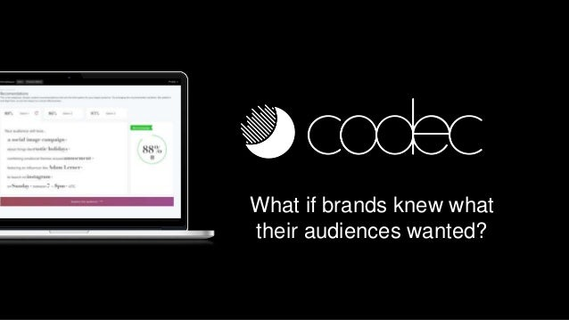 What if brands knew what their audiences wanted?
