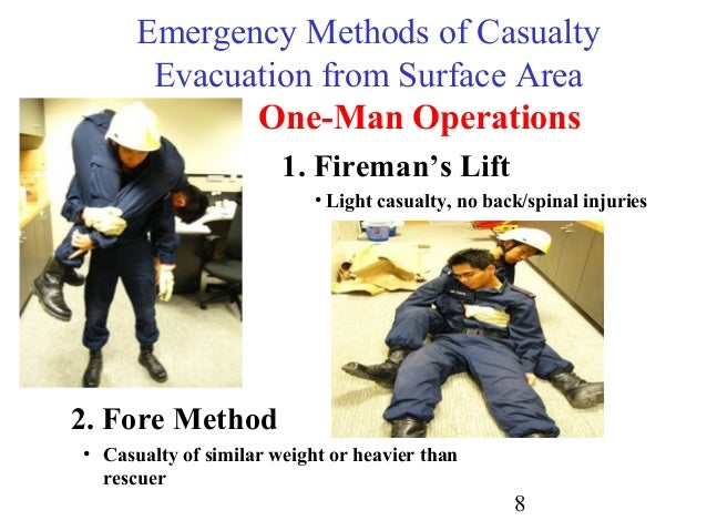 33 Emergency Methods Of Moving Casualties