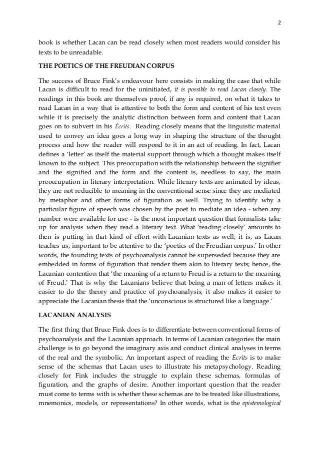 lacan ecrits a selection pdf