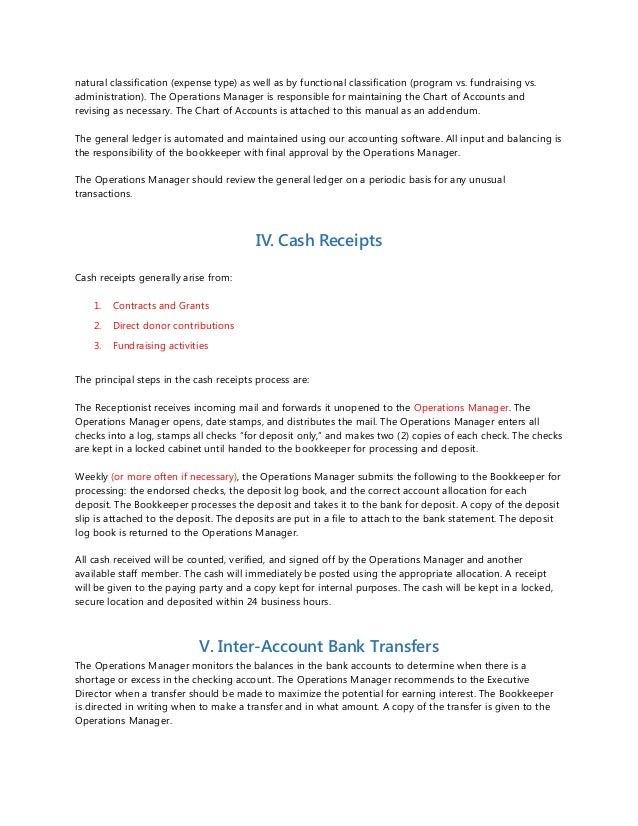 policies and procedures examples pdf