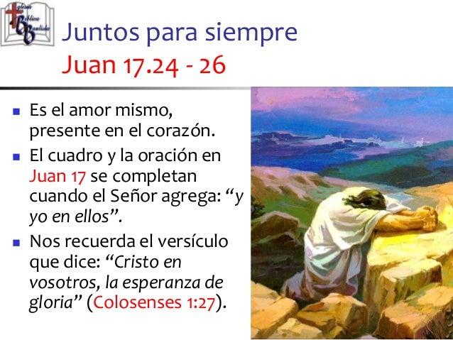 Resultado de imagen para Juan 17,24-26