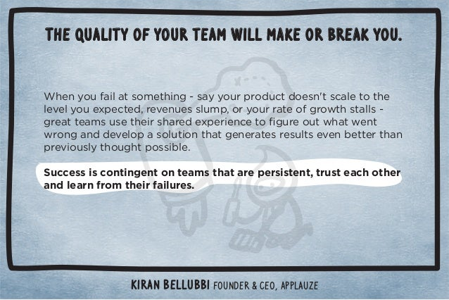 The quality of your team will make or break you.  $!*5+1%(0/+)!0$%*#ġ/55+1.,.+ 10 +!/*ŏ0/(!0+0$!  (!2!(5+1!4,!0! Č.!2!*1!/...