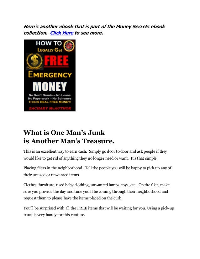 33 simple but powerful ways to pocket almost instant cash 37 heres another ebook fandeluxe Epub