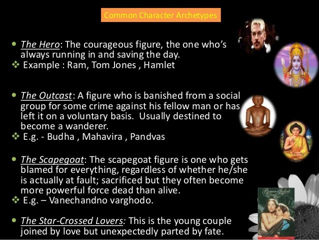 Literary archetypes and the hero's journey.