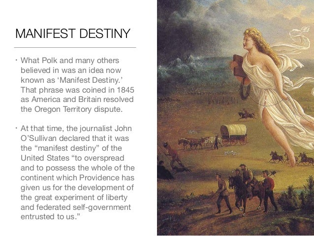 john o sullivan manifest destiny