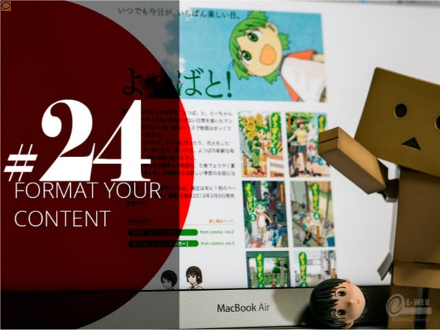 #24 – Format your content