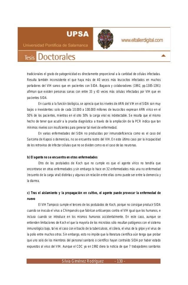 Silvia Giménez Rodríguez - 130 - tradicionales el grado de patogenicidad es directamente proporcional a la cantidad de cél...