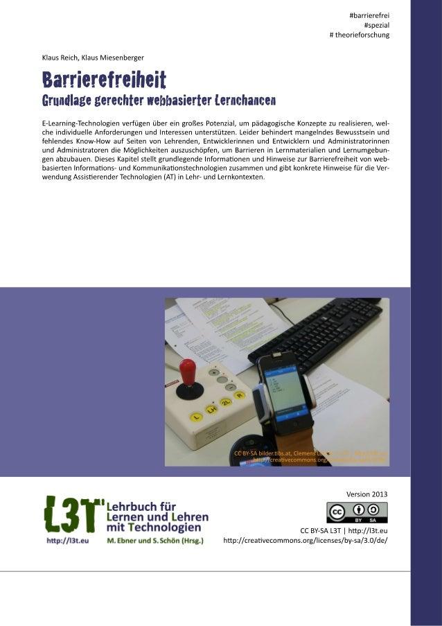 Informations- und Kommunikationstechnologien (IKT) zeichnen sich durch die Multimedialität der Dar- stellung und Multimoda...