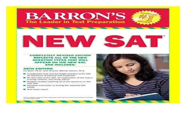 Barrons Sat Book Pdf