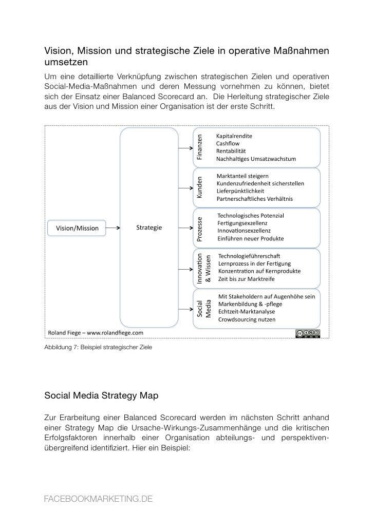Vision, Mission und strategische Ziele in operative Maßnahmen umsetzen Um eine detaillierte Verknüpfung zwischen strategis...