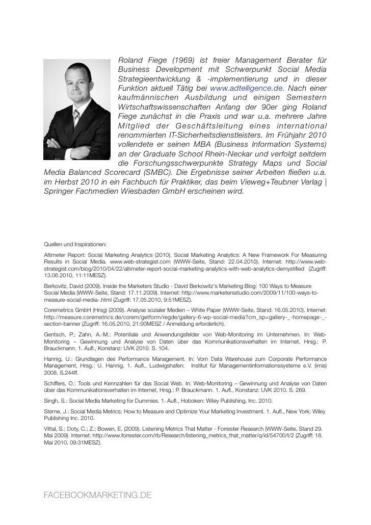 Roland Fiege (1969) ist freier Management Berater für                      Business Development mit Schwerpunkt Social Med...