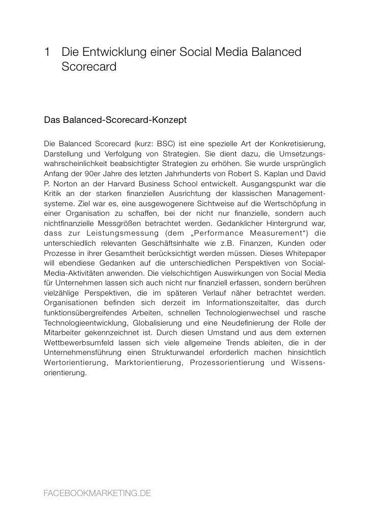 1 Die Entwicklung einer Social Media Balanced   Scorecard    Das Balanced-Scorecard-Konzept  Die Balanced Scorecard (kurz:...