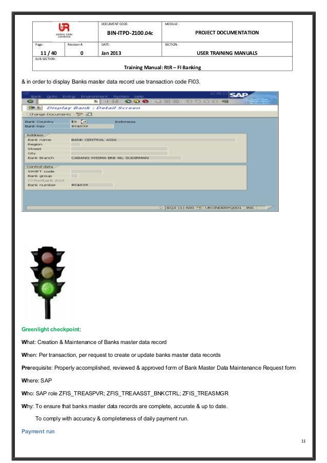 E banking User manual